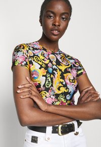 Versace Jeans Couture - LADY - Print T-shirt - black - 3