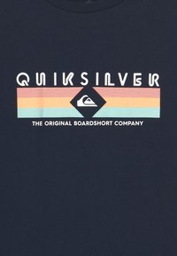 Quiksilver - DISTANT SHORES  - T-shirt con stampa - navy blazer - 2