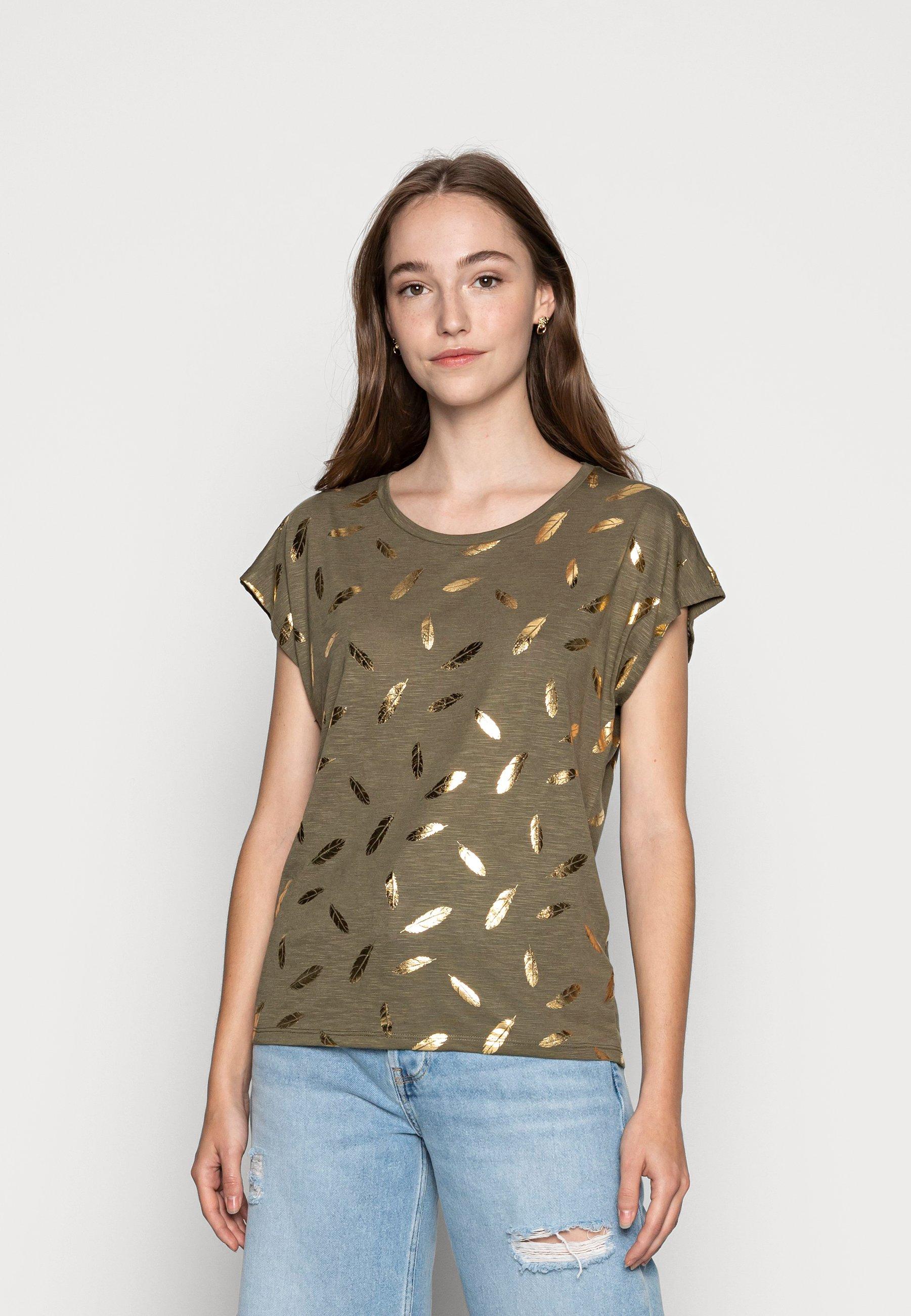 Women ONLFEATHER - Print T-shirt
