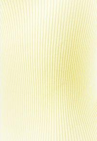 Rosemunde - ORGANIC SLIP DRESS - Top - vanilla yellow - 2