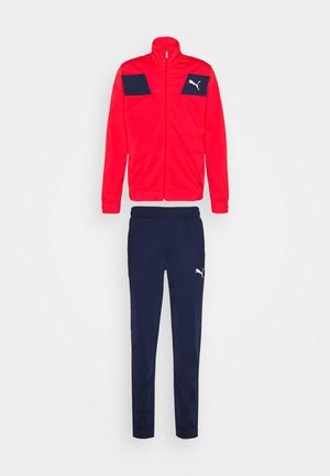 TECHSTRIPE TRICOT SUIT - Tracksuit - high risk red