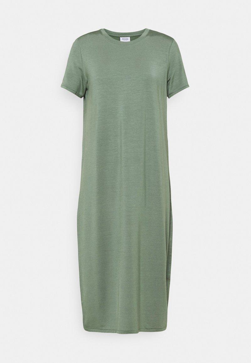 Vero Moda - VMGAVA DRESS - Jersey dress - laurel wreath