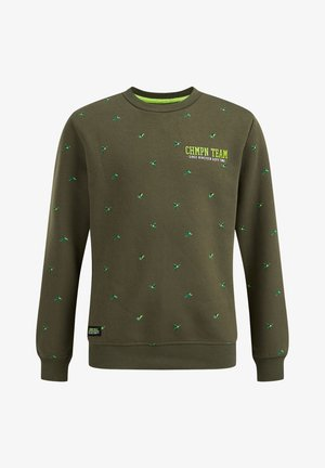 Collegepaita - army green