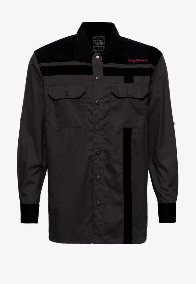 MIT STICKEREIEN ROADSTERS  - Overhemd - schwarz