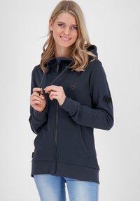 alife & kickin - Zip-up hoodie - marine - 0