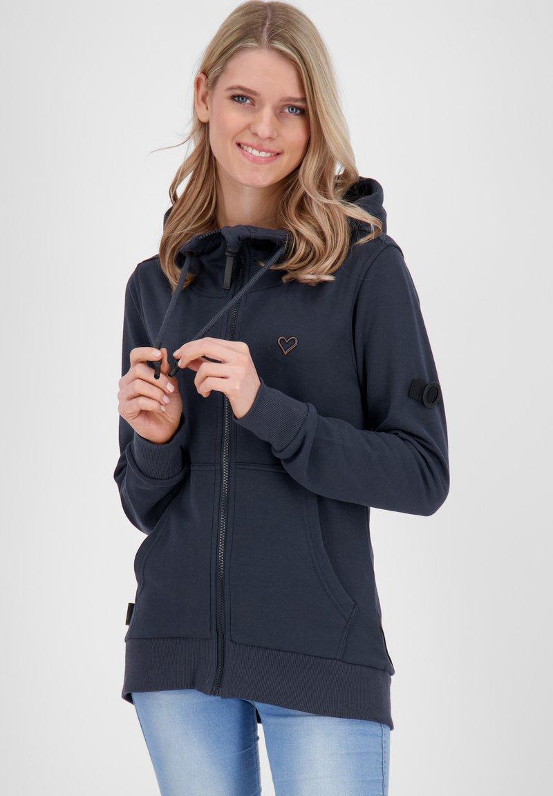 alife & kickin - Zip-up hoodie - marine