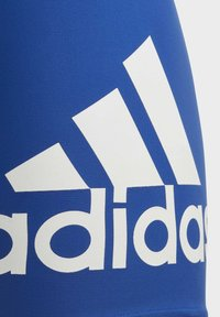 adidas Performance - BADGE OF SPORT SWIM BOXERS - Swimming trunks - blue - 3