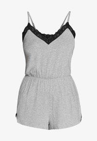 Pour Moi - SOFA LOVES SECRET SUPPORT PLAYSUIT - Pijama - grey marl - 3