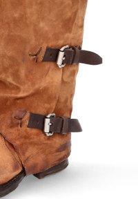 A.S.98 - Cowboy/Biker boots - calvados - 5