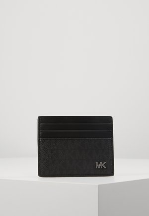 JET SET MENSTALL CARD CASE - Kortholder - black