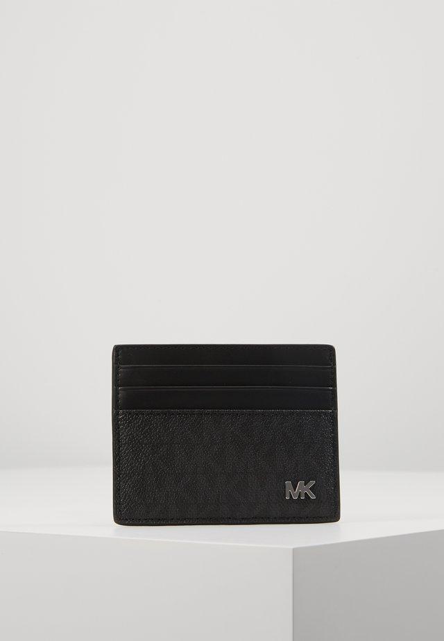 JET SET MENSTALL CARD CASE - Visitkortsfodral - black