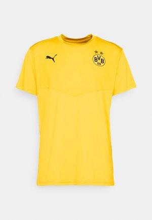 BVB BORUSSIA DORTMUND WARMUP TEE - Club wear - cyber yellow/black