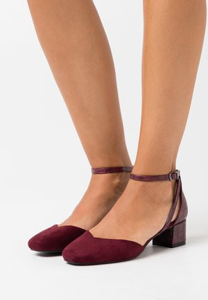 WIDE FIT WICKHAM - Tacones - bordeaux