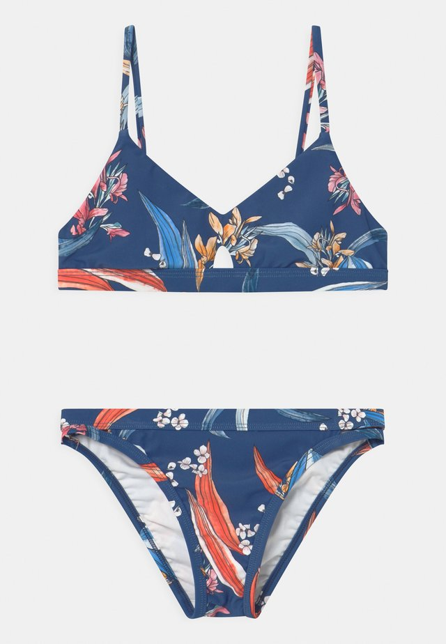 SALTY SUNSET SET - Bikini - marine blue