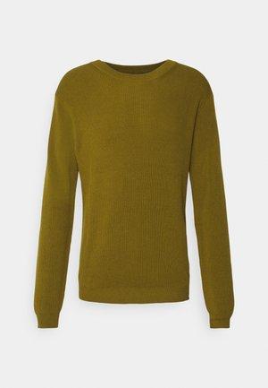 PEDERSEN - Stickad tröja - green