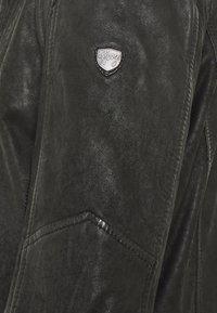 Gipsy - GBESMOND - Leather jacket - black - 5