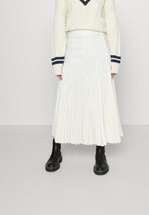 Plooirok - white