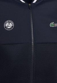 Lacoste Sport - TENNIS JACKET  - Träningsjacka - navy blue/white - 5