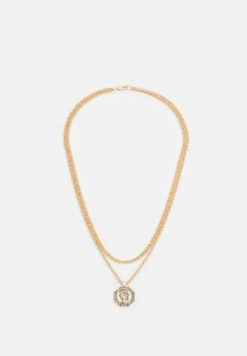 HEX COIN MULTIROW - Kaulakoru - gold-coloured