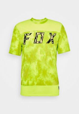 RANGER ELEVATED - Print T-shirt - neon yellow