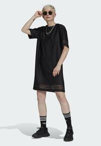 adidas Originals - Skjortklänning - black - 1