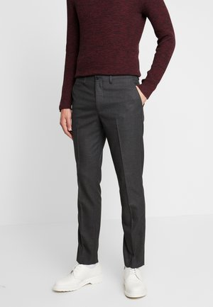 SLHSLIM KENT PANTS - Trousers - dark grey