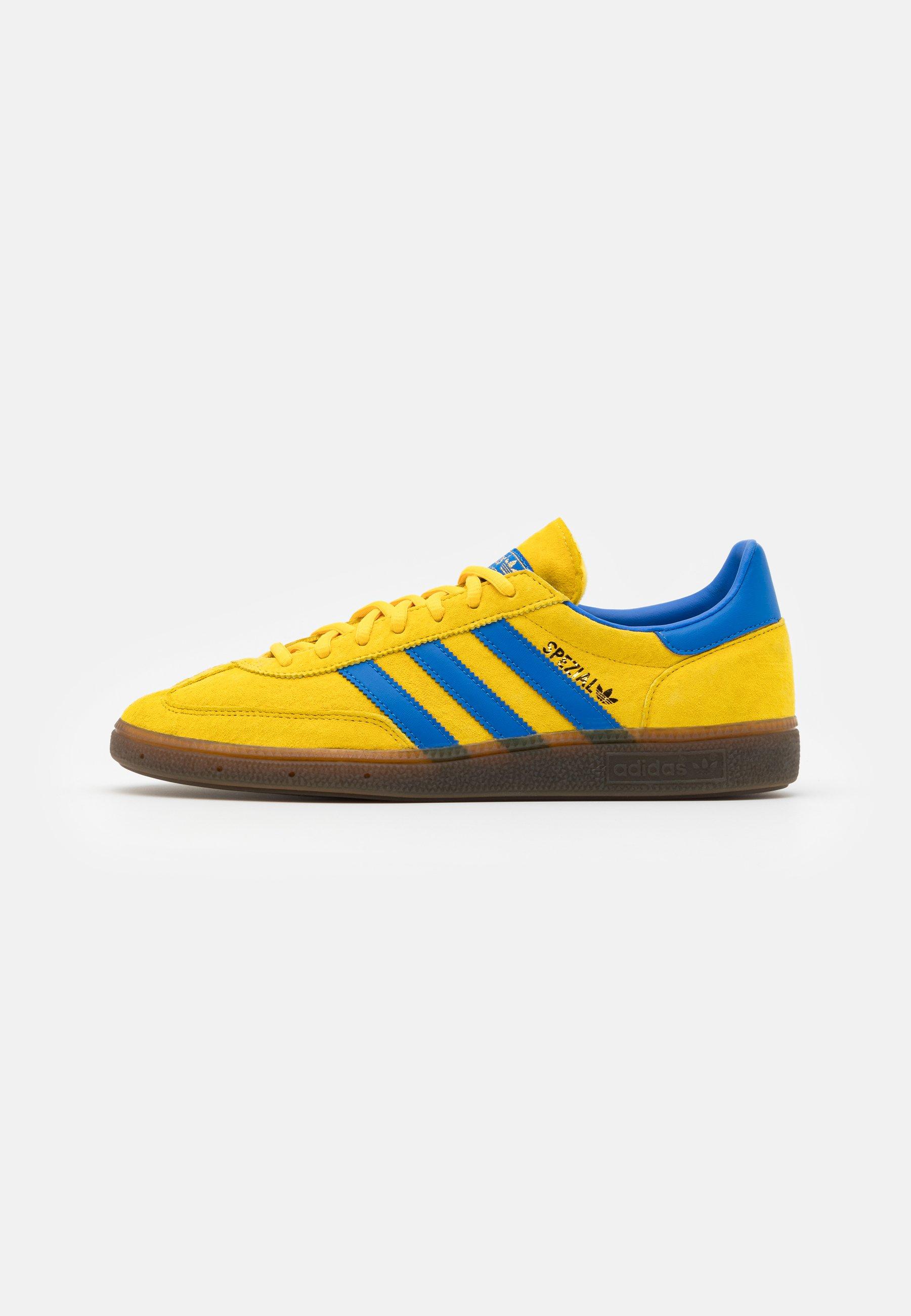 Rústico difícil Especial  adidas Originals HANDBALL SPEZIAL TERRACE SHOES UNISEX - Baskets basses -  glow/blue/jaune - ZALANDO.FR