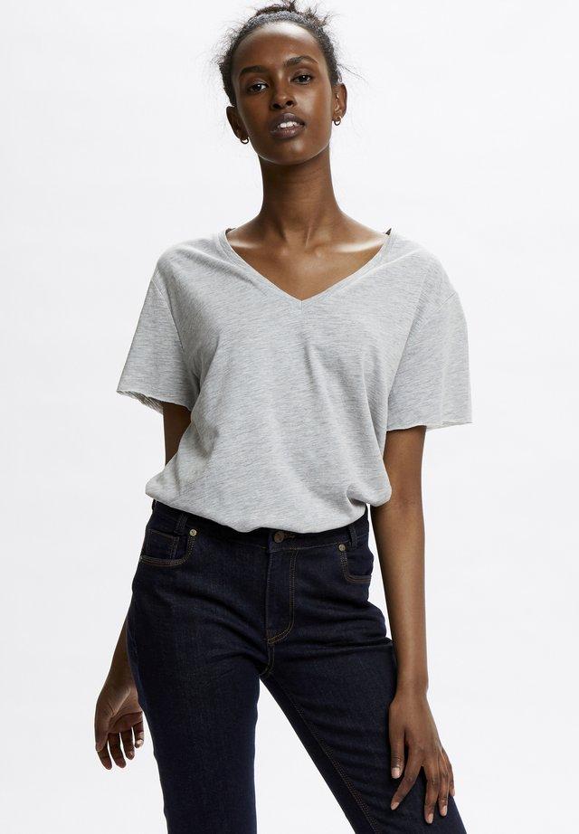 T-shirt basique - titanium melange