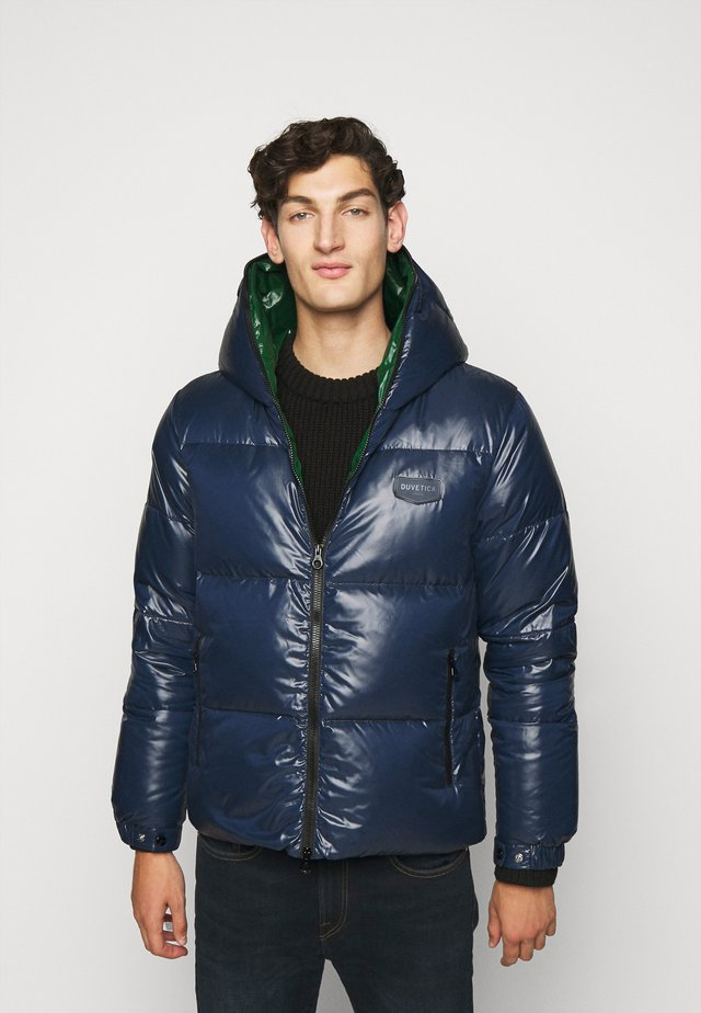 AUVATRE - Down jacket - blu scuro
