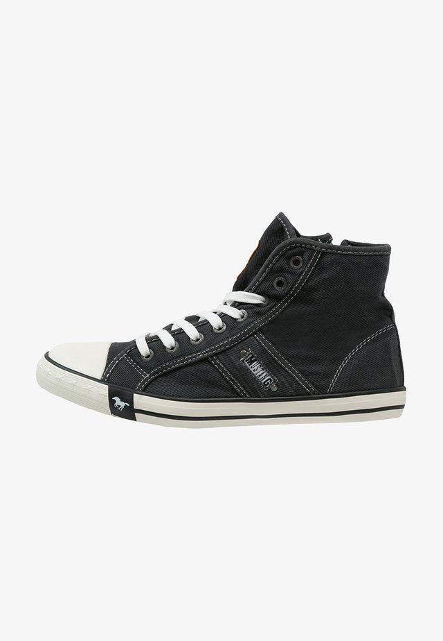 Sneakersy wysokie - schwarz