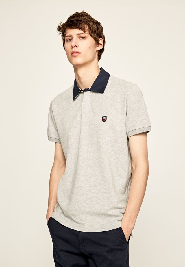 LEVYCE - Polo - gris marl