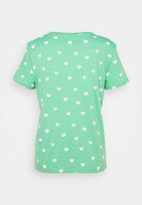TOM TAILOR - T-shirt imprimé - green/offwhite - 1
