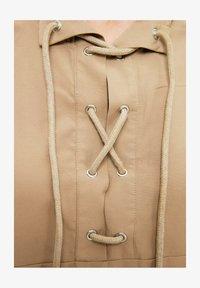 Trendyol - Long sleeved top - grey - 4