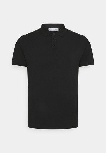 PLUS SHORT SLEEVE - Polo shirt - black