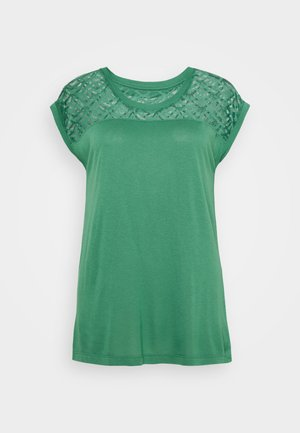 ONLNICOLE MIX - Basic T-shirt - pine green
