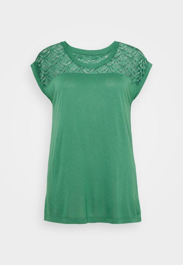 ONLNICOLE MIX - T-shirt basic - pine green