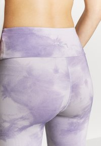 Hey Honey - LEGGINGS TIE DYE - Legging - purple