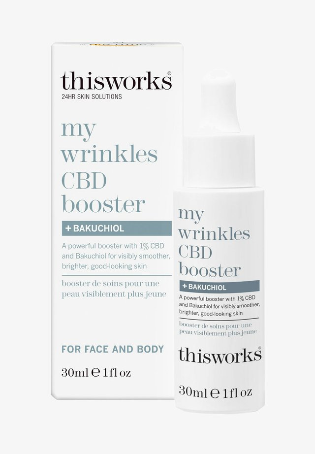 MY WRINKLES CBD BOOSTER + BAKUCHIOL - Face oil - -