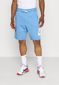 Nike Sportswear - Shorts - psychic blue/sail - 0