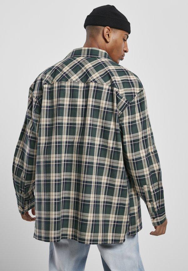 Southpole Koszula - green/zielony Odzież Męska CZBX