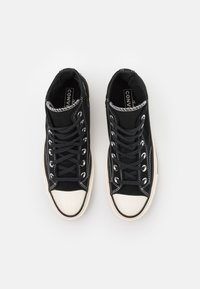 Converse - CHUCK TAYLOR ALL STAR 70 UNISEX - High-top trainers - black/egret - 3