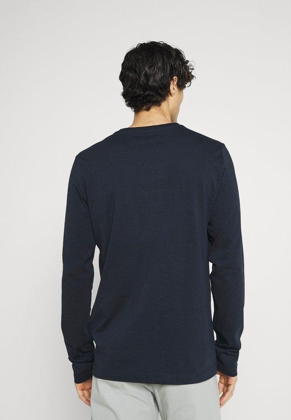 Mustang ADRIAN - Bluzka z długim rękawem - dark sapphire/niebieski Odzież Męska DPSC