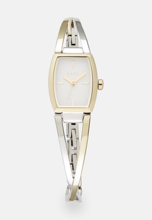 CROSSWALK - Horloge - silver-coloured/gold-coloured