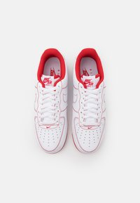 Nike Sportswear - AIR FORCE 1 '07 STITCH - Baskets basses - white/university red - 5