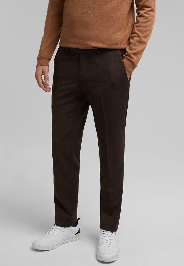 Pantalon - dark brown