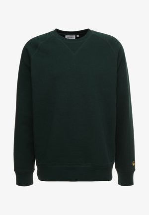 CHASE  - Sudadera - bottle green/gold