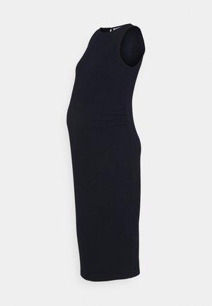 BODY CON DRESS - Žerzejové šaty - navy