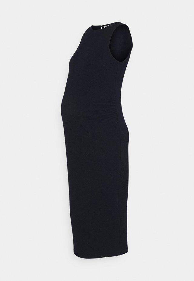 BODY CON DRESS - Sukienka z dżerseju - navy