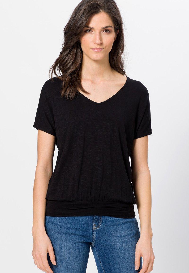 zero - Print T-shirt - black