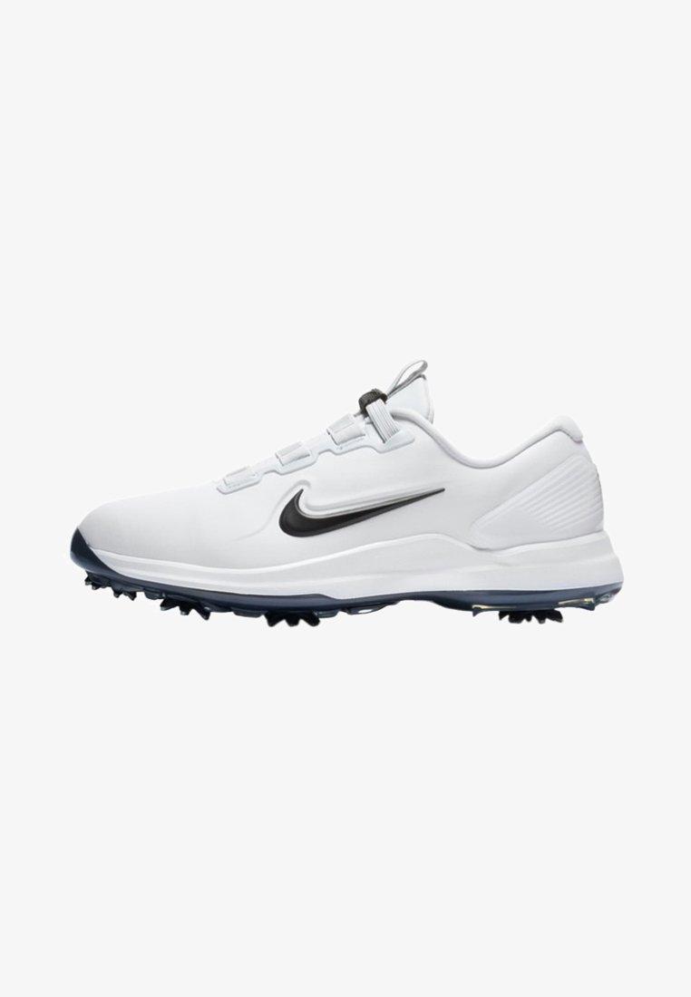Nike Golf - TIGER WOODS - Golfskor - white/metallic cool grey/pure platinum/black